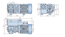 вакуумный насос Busch RB 0021